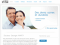 Page d'accueil du site http://selarl-cabinetdentaire-dr-marty-chirurgiens-dentistes.fr