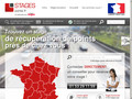 Récupération de points http://stages-points.fr