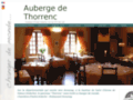 Auberges http://www.auberge-thorrenc.com