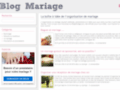Mariages Fêtes http://www.blogmariage.pro