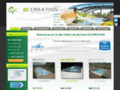 Abri de piscine http://www.eccreation.fr