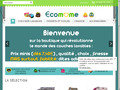 Couches lavables http://www.ecomome.fr