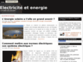 Energies http://www.electricite-et-energie.com