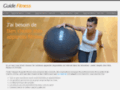 Page d'accueil du site http://www.guide-fitness.fr
