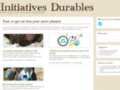 Ecologie http://www.initiatives-durables.fr