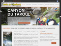 Escalade http://www.languedoc-canyoning.fr