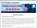 Plomberie http://www.sos-plombier-vincennes.fr