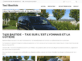 Taxis http://www.taxi-bastide.fr