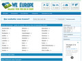 Annuaires voyage http://www.we-europe.net